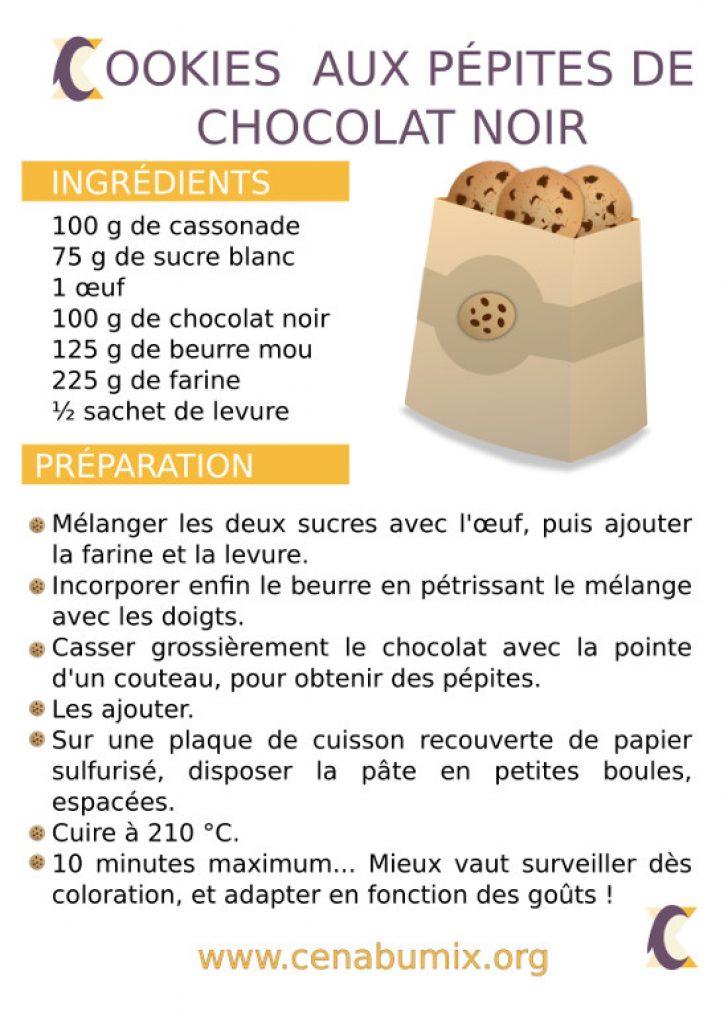 recette des cookies moelleux